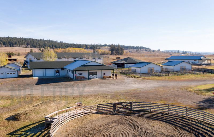 ranch for sale bc canada horse property log homes country living